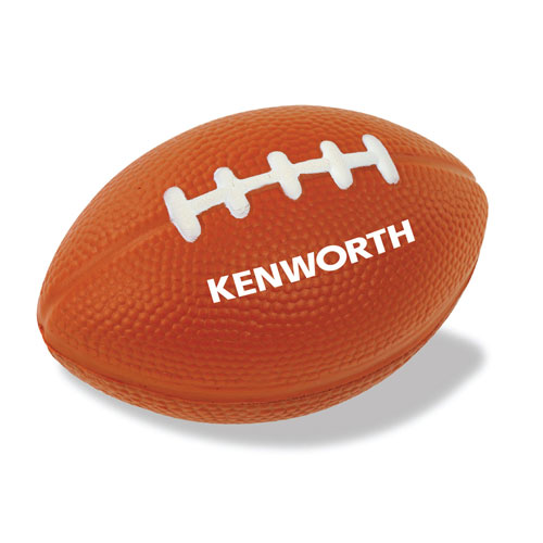 Brown Foam Football Stress Reliever