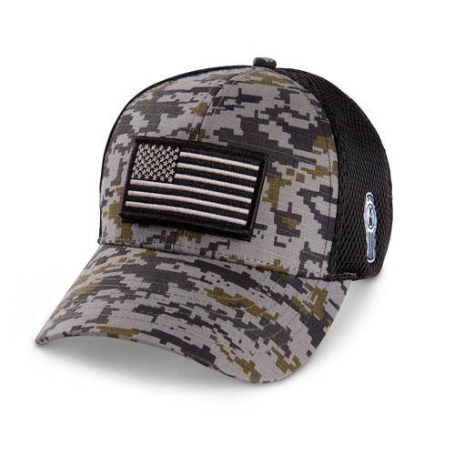 Digi-Camo Flag Mesh Hat