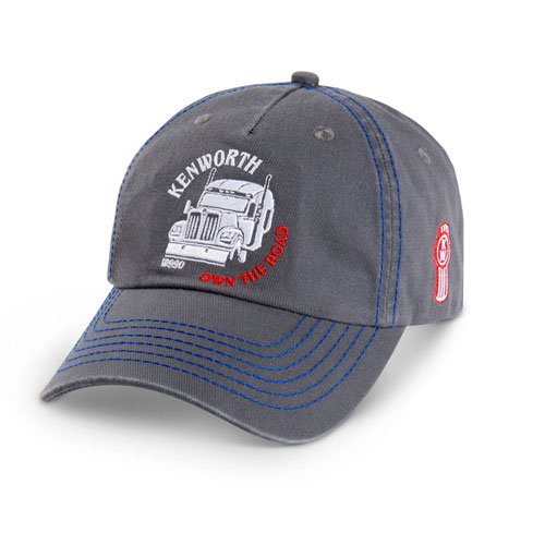 """Own the Road"" Sloped Hat"