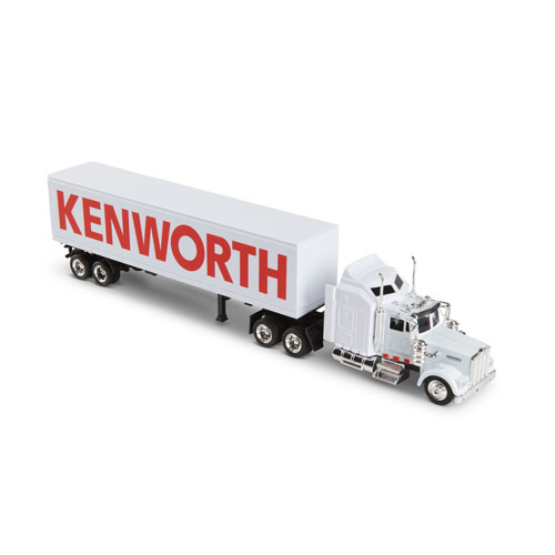 1:43 Scale-Model Kenworth W900 Hauler Truck