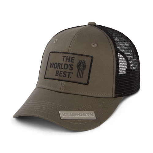 """The World's Best"" Bottle Opener Mesh Hat"
