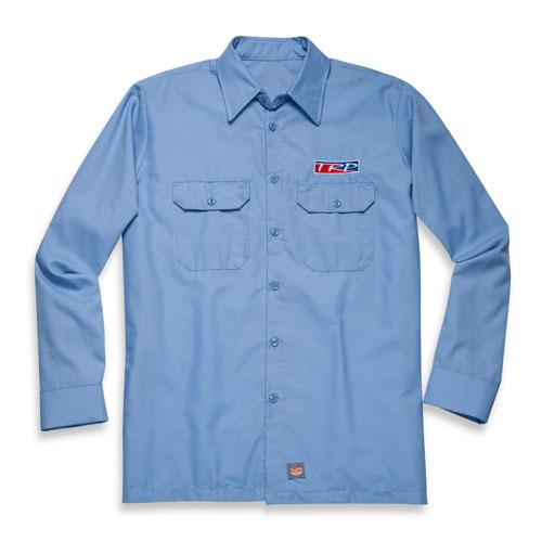 TRP Red Kap LS Solid Ripstop Shirt Light Blue