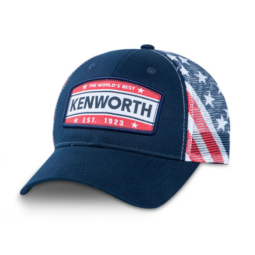 USA Flag Mesh Hat