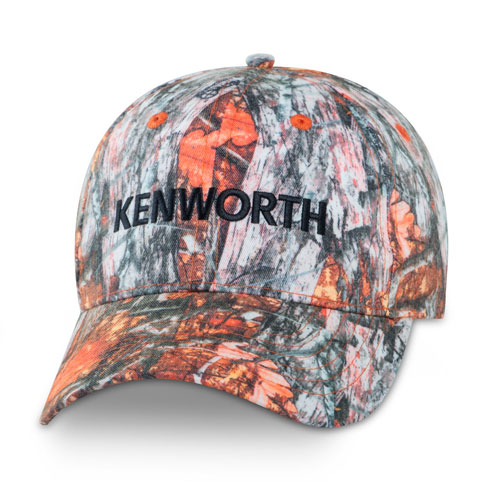Blazin' Orange Game Camo Cap