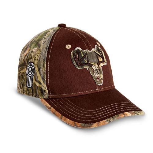 Camo Deer Skull Hat