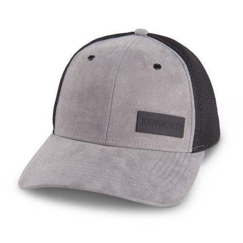 Faux Suede Mesh Hat