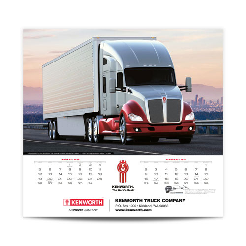Kenworth 2020 Wall Calendar