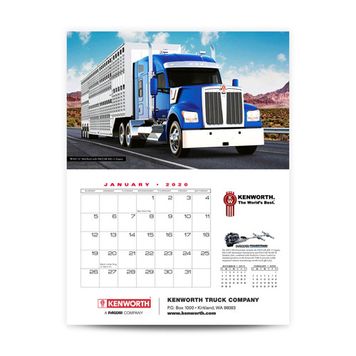 Kenworth 2020 Appointment Calendar