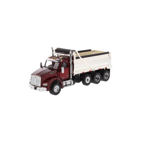1:50 Scale T880 Dump Truck - Red