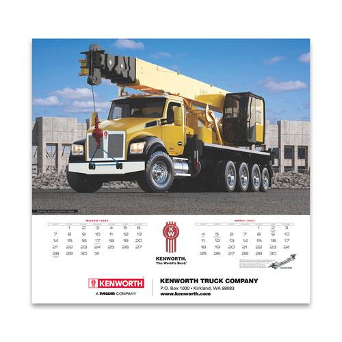 Kenworth 2021 Wall Calendar