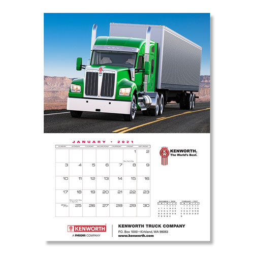 Kenworth 2021 Appointment Calendar