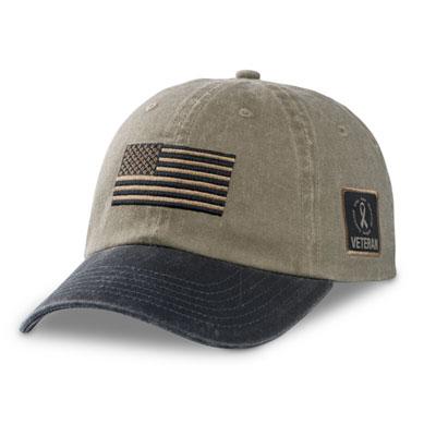Pigment-Dyed Veteran Cap