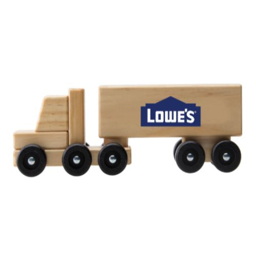 Wooden Semi-Truck