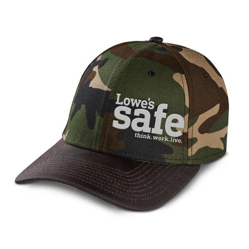 Lowe's Safe Camo Cap