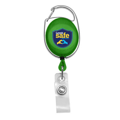 Lowe's Safe Carabiner Badge Reel