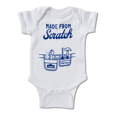 """Made From Scratch"" Onesie"