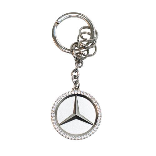 Star Key Ring With Swarovski® Crystals