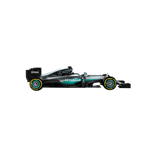 F1 Hybrid Car Wall Decal