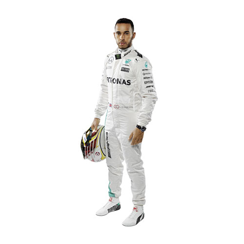 Lewis Hamilton Wall Decal