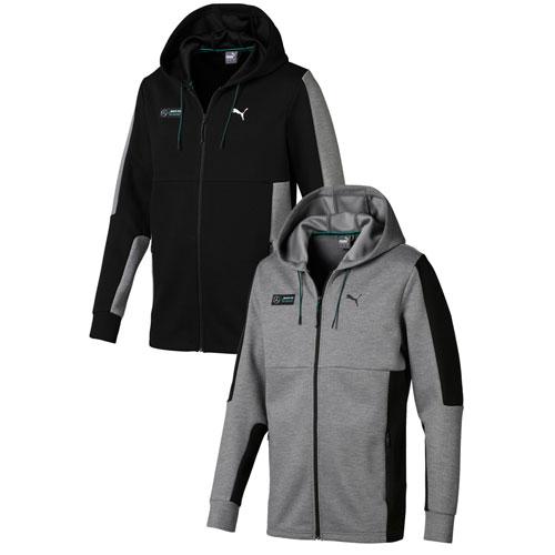 Men's Puma Mapm Sweat Jacket - BLACK