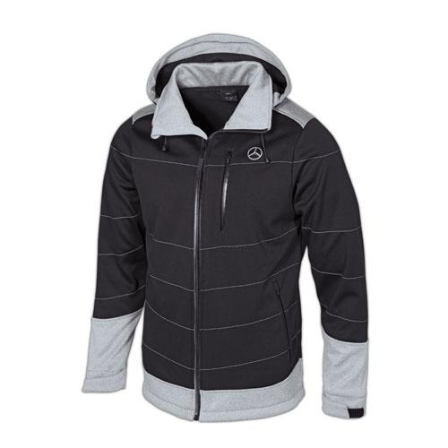 Men's Color-Blocking Soft Shell Jacket
