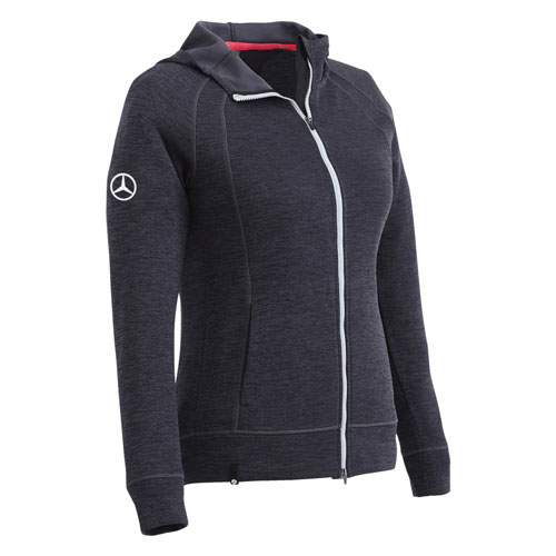 Women's Puma® Golf Full-Zip Hooded Sweatshirt