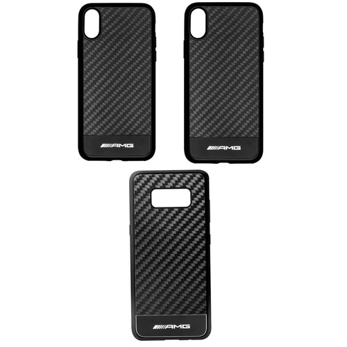 AMG Carbon Fiber Phone Case - iPhone® XR