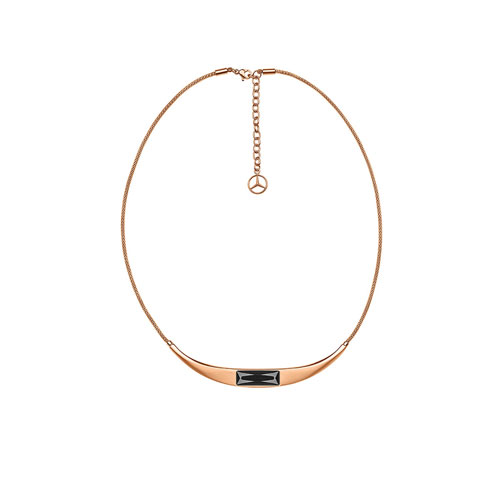 Swarovski® Crystal And Rose Gold Necklace