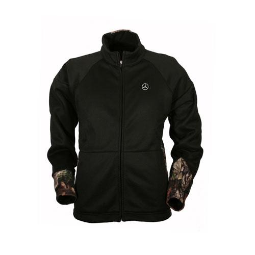 Men's Mesh Fleece Camo Performance Jacket