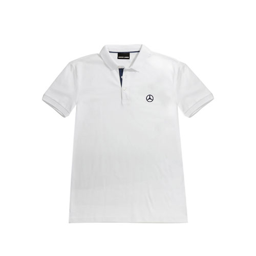 Men's Short-Sleeve Accent Polo