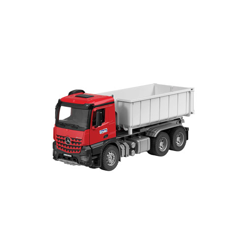 Arocs 6X4 With Roll-Off Container And Figure, 1:16