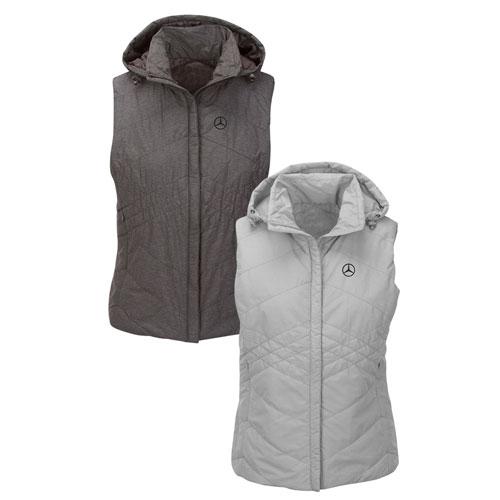 Women's Lightweight Insulated Vest - Light GRAY