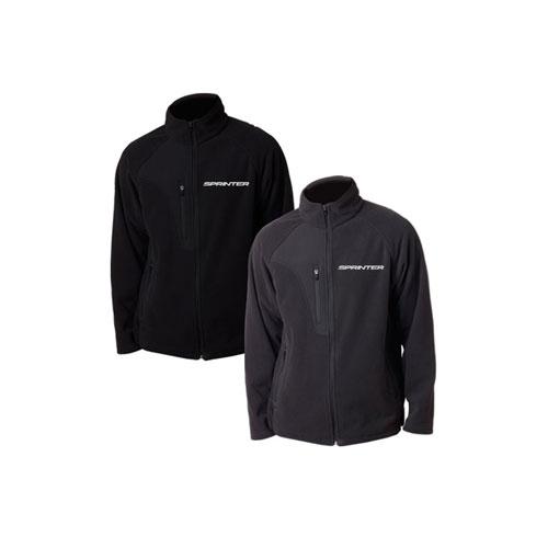 Microfleece Full-Zip Jacket - GRAY