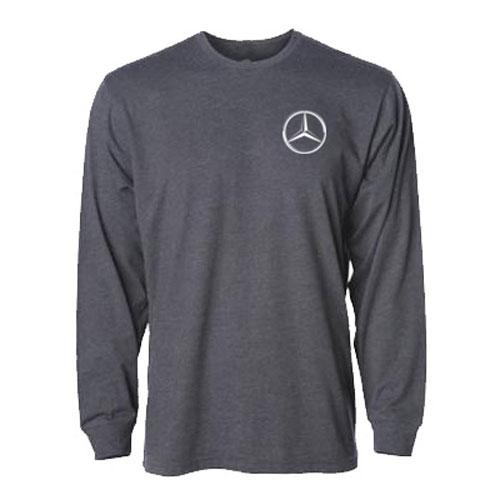 Men's Long-Sleeve T-Shirt  - GRAY