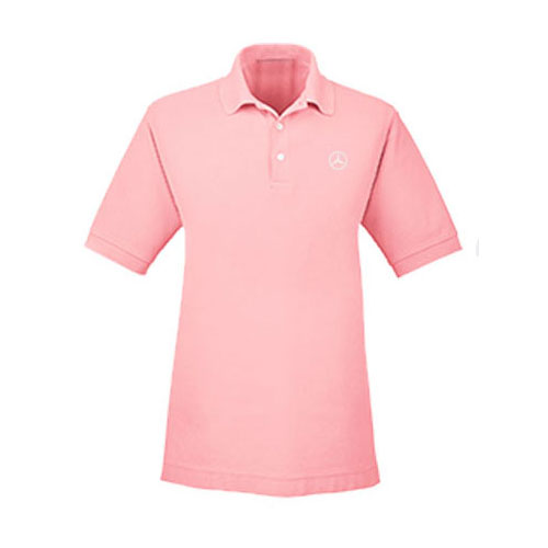 Men's Everyday Short-Sleeve Cotton Polo - PINK