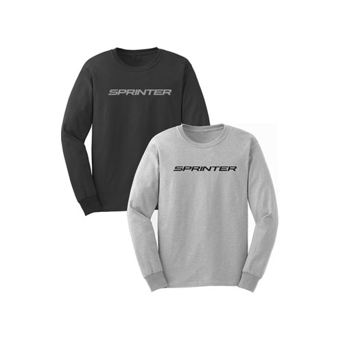 Men's Long Sleeve Ringspun T-Shirt - GRAY