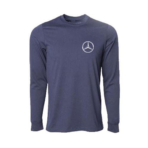 Men's Long Sleeve T-Shirt - NAVY