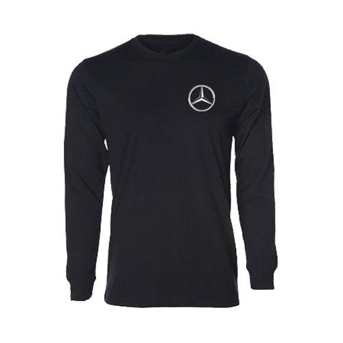 Men's Long-Sleeve T-Shirt - BLACK