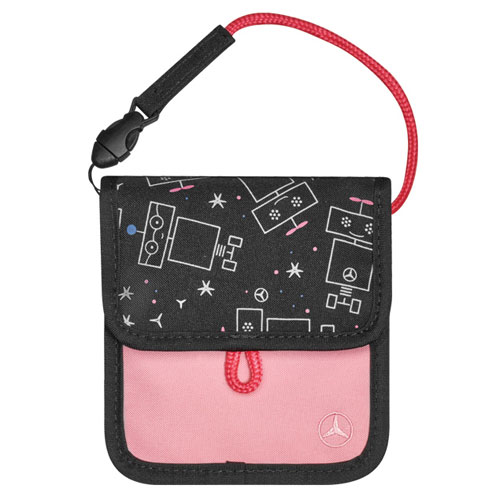 Youth Lanyard Pouch - PINK