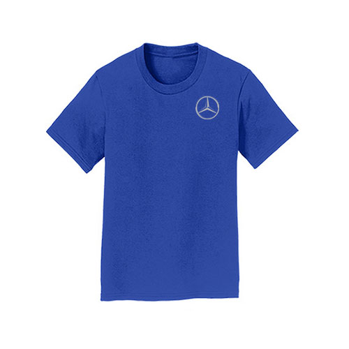 Youth Star Crewneck T-Shirt - BLUE