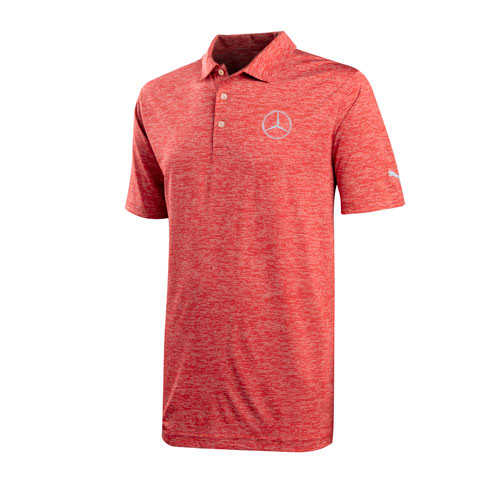 Men's Puma Golf Icon Heather Polo