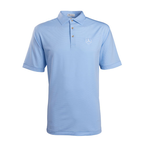 Men's Peter Millar Jubilee Stripe Performance Polo