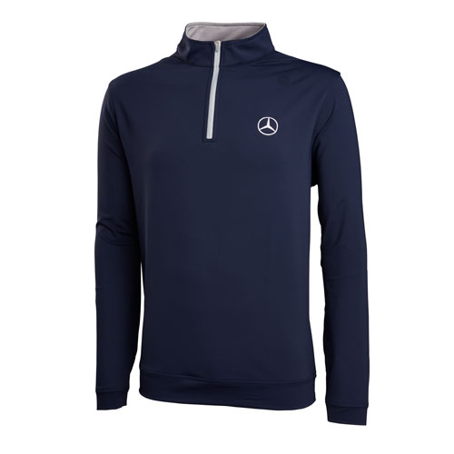 Men's Peter Millar Perth Stretch French Terry 1/4 Zip