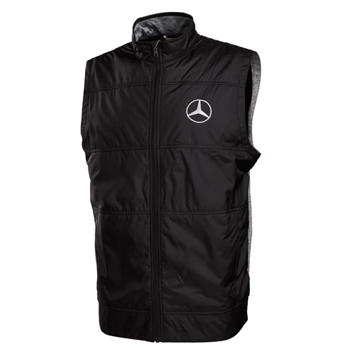Men's Cutter and Buck Stealth Full Zip Vest