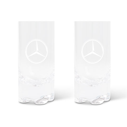 12oz Crystal Hiball Glass Set of 2