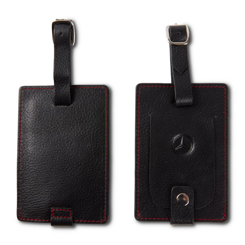 Leather Luggage Tags 2pk