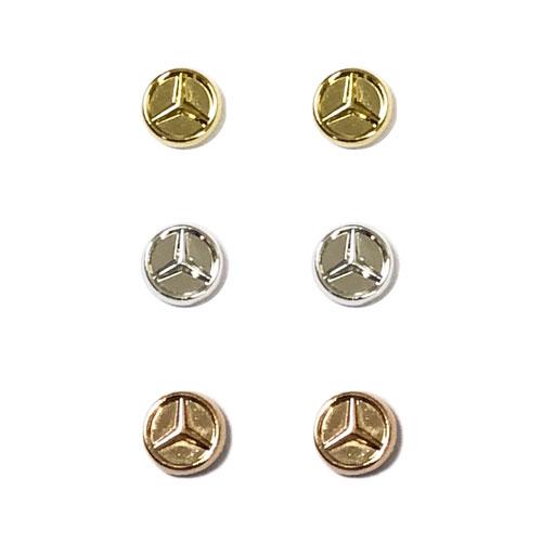 Circle Earrings 3pk