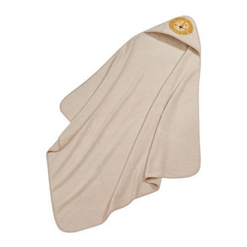Kid's Hooded Towel Safari