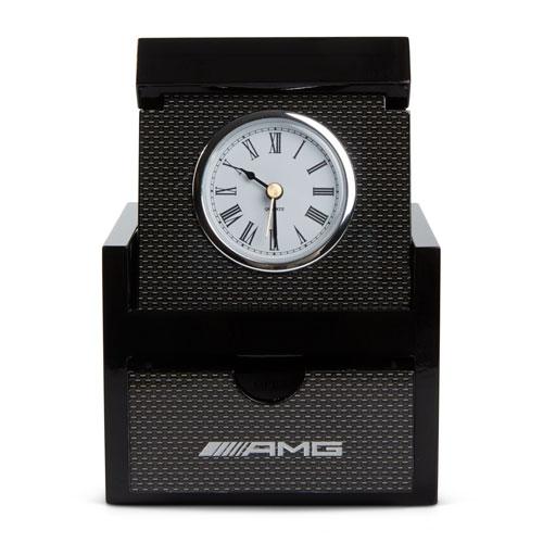 AMG Clock with Keepsake Drawer