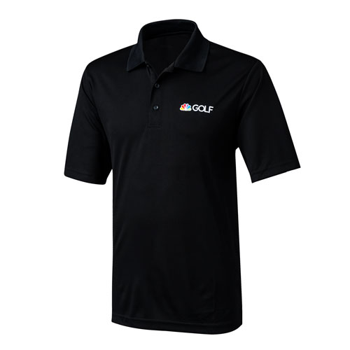 Golf Channel Black Performance Polo